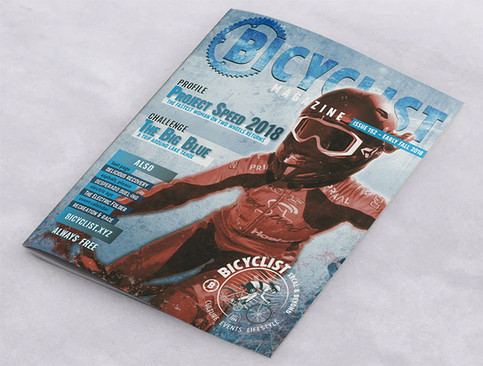 Bicyclist Magazine Cover #152