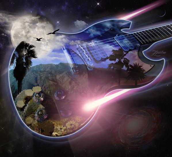 Spacey Desert Nights Rock