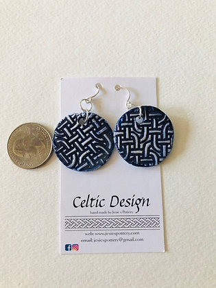 Lg Celtic earrings