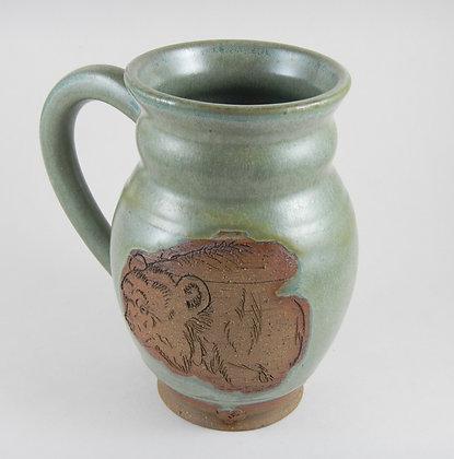 Carved Mug Bear