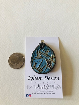 Ogham pendant
