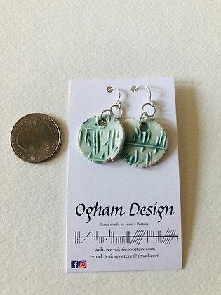 Ogham earrings