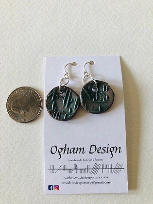 Ogham earrings