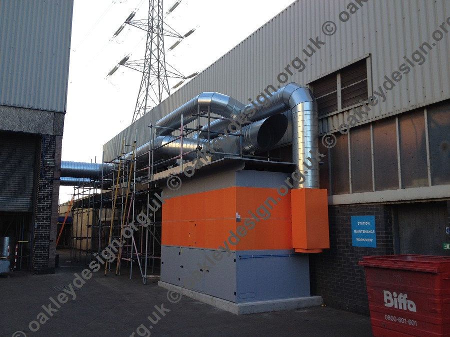 West Burton Kemper System 9000 installed