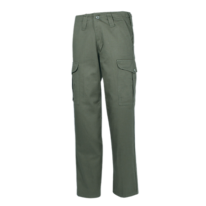 Heavyweight Combat Trousers Olive 100% cotton