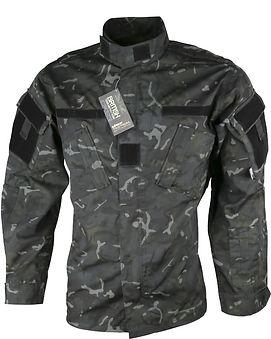 Assault Shirt - ACU Style - BTP Black2.j