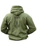 SAS HOODIE - Olive Green (New Design)