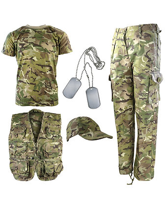 Kids Camouflage Explorer Army Kit