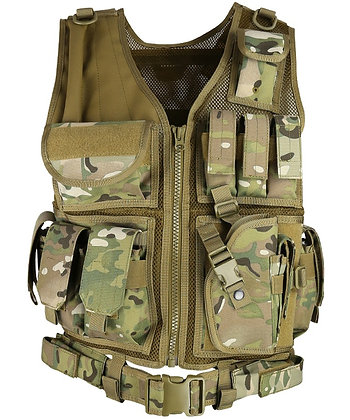 Cross Draw Tactical Vest