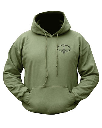 Parachute Regiment HOODIE - Olive Green