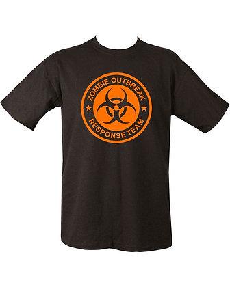 Zombie Outbreak T-shirt - Black