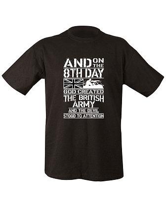 8th Day T-shirt - Black