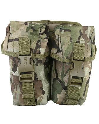 Double Ammo Pouch with Molle Fixing - BTP