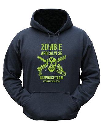 Zombie Apocalypse HOODIE - Black