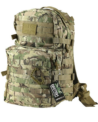 Medium Molle Assault Pack 40 Litre CAMO