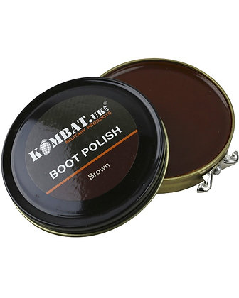 Kombat  Boot Polish - Brown