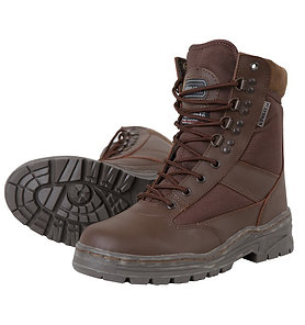 Patrol Boot - Half Leather/Half Nylon - MOD Brown