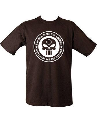 God Will Judge T-shirt - Black