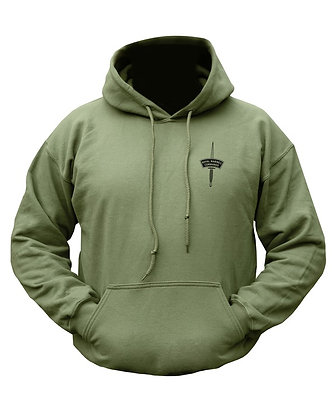 Royal Marines Commando HOODIE - Olive Green