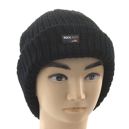 HEAVY KNIT THINSULATE HAT