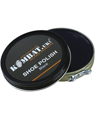 Kombat Boot Polish - Black