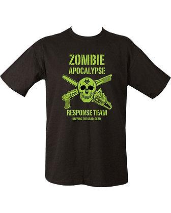 Zombie Apocalypse T-shirt - Black