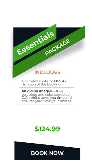 DGRAPHIKS Event PriceList- Essentials