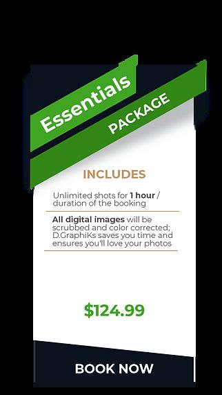 DGRAPHIKS Event PriceList- Essentials