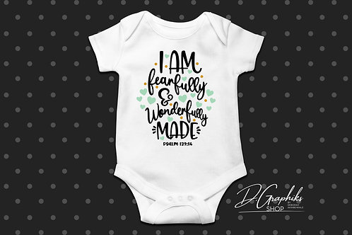 Fearfully & Wonderfully Made Onesie | Tee