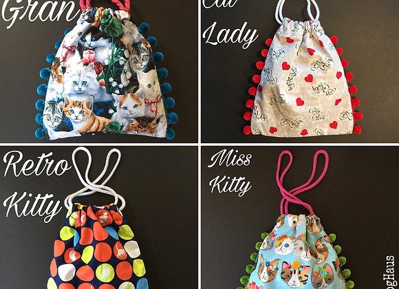 Cat Cinch Bags