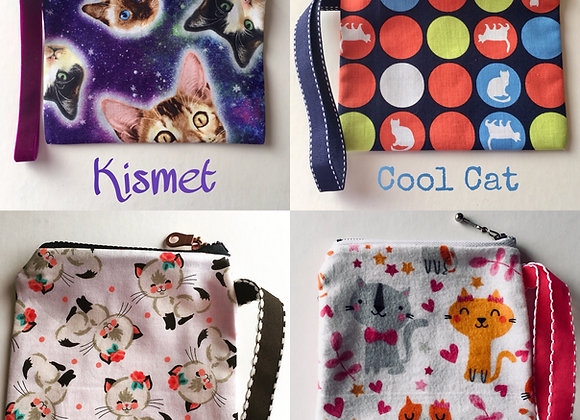 Kitty Cat Wristlets