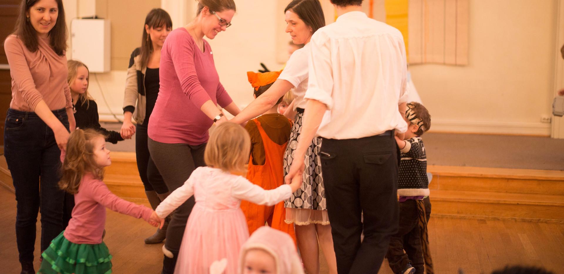 Gyermek táncfoglalkozás