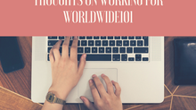 A Military Spouse's Thoughts on Working for Worldwide101