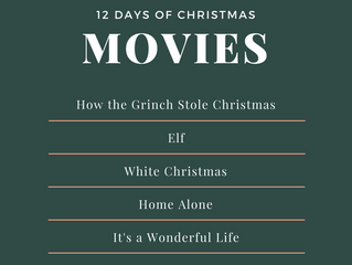 12 Days of Christmas... Movies!