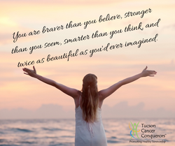 You are braver than you believe, stronge