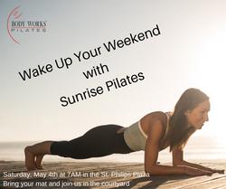 Awaken Your Weekend with Sunrise Pilates