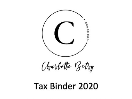 Setting Up Your Tax Binder for a Smooth Tax Season