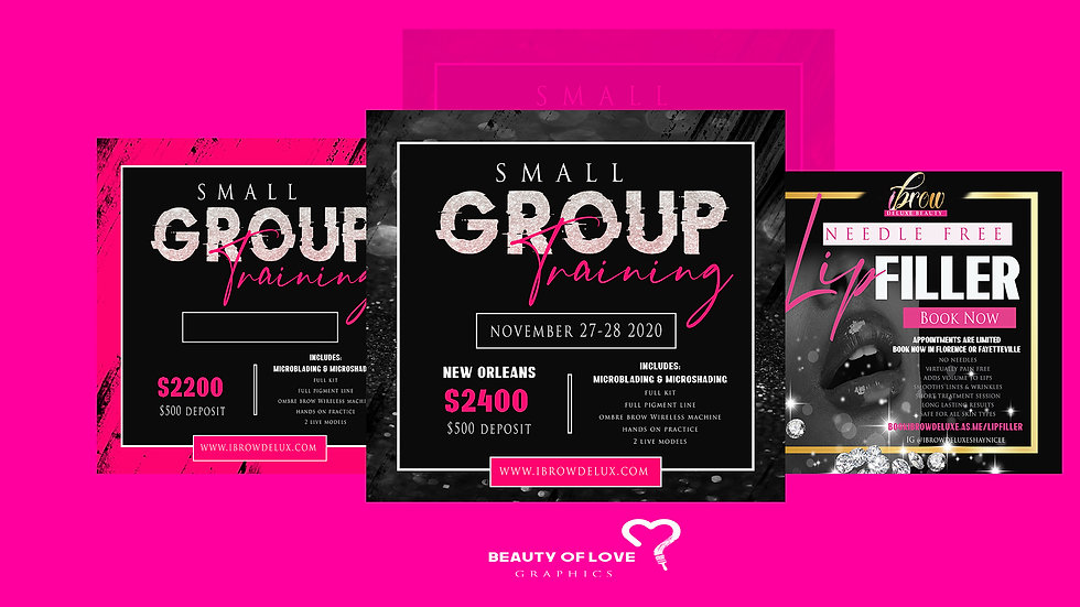 Beauty Brand Promo Kit