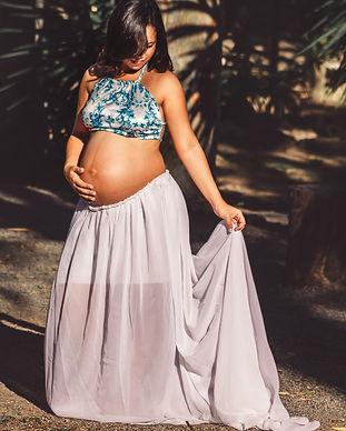 Black pregnanct mom