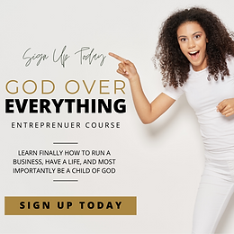 God Over Everything Course