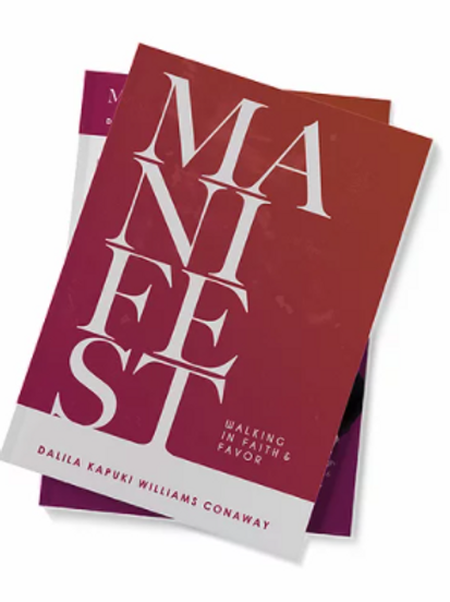 (E-Book) MANIFEST: Walking In Faith & Favor