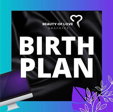 The Birth Plan | Brand Start Kit