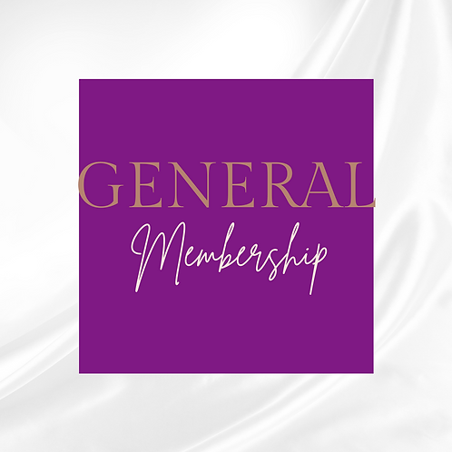 General Yearly Membership