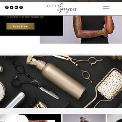 Betta Spray Dat HairStylist Brand
