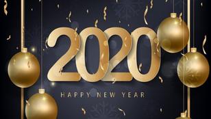 Поздравляем Вас с Новым Годом 2020!