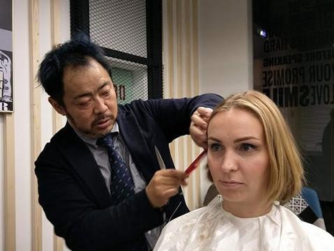 Стилист из Японии Yokoyama Hayato представит парикмахерские услуги в Москве с 12 по 17 февраля!