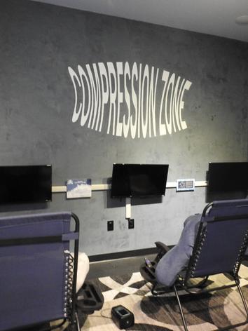 Normatec Compression room