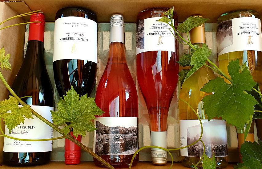 2017 Pinot Noir, 2020 Pinot Rose and 2019 Chardonnay