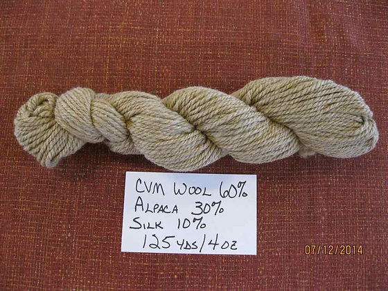 CVM Romeldale, Alpaca, and Silk (60/30/10) Bulky