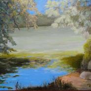 "Leo Weisz Memorial Award - Mary Lou Griffin  ""At the Edge of Lake Gerar"""